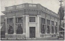 1921 Dinuba, California - First National Bank - Tulare County