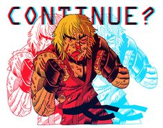 Street Fighter's Ken by artist Dan Hipp. Street Fighter Ken, Comic Book Artists, Comic Artist, Random House, Cartoon Network, Ken Masters, Alita Battle Angel Manga, Art Of Dan, Character Art