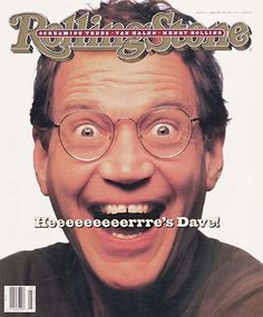 For My Friend @Tammy Strang Habel- in Celebration that you are on Pinterest!!!!! :0) David Letterman