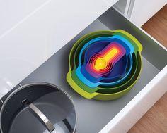 Joseph Joseph Nest™ 9 Plus | 9-piece nesting bowl set