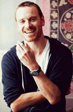 Michael Fassbender and the Smile That Will Launch Another Thousand Ships