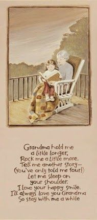 Beautiful poem about Grandmothers Rocking Chair - By: Karen Tribett ...