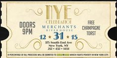 2016 New Year's Eve Party at Merchants River House