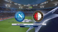UEFA Champions League Feyenoord vs Napoli minute by minutes live scores predictions today. Get Live