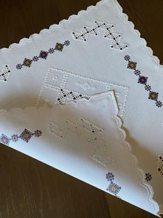 Embroidered handmade white linen tablecloth with ancient | Etsy Linen Tablecloth, Tablecloths, Natural Linen, Machine Embroidery, Best Gifts, Delicate, Ornaments, Pattern, Fabric