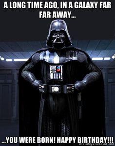 Vader Birthday