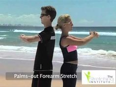 Swimming Stretches, Swimming Stretching Routine, Flexibility Program for Swimmers