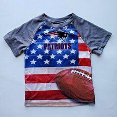 New England Patriots Kids Team Apparel Short Sleeves T Shirt Patriots Logo, New England Patriots Football, New England Patriots Championships, Nfl Team Apparel, Patriotic Shirts, Short Sleeves, Babies Clothes, Kids, Mens Tops
