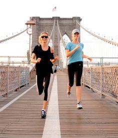 Cuerpo en forma verano fitness ejercicio gimnasio yoga spa pilates - Heidi Klum Brooklyn Decker