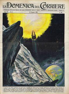 la-domenica-del-corriere-cover (18th January 1959) Cover by Walter Molino   Flickr - Photo Sharing!