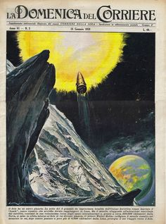 la-domenica-del-corriere-cover (18th January 1959) Cover by Walter Molino | Flickr - Photo Sharing!