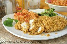 Chicken Recipe : Crispy Tortilla Crusted Chicken