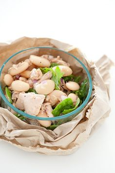 tuna butter bean salad by jules:stonesoup, via Flickr