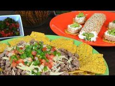 ▶ Bocadillos con salsas Mexicanas | Guacamole y Pico de Gallo. Receta para el 16 de septiembre - YouTube