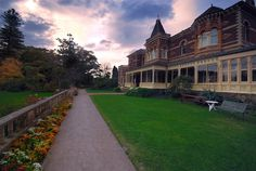 Ripponlea Estate. I got married at this lovely estate in 2003.