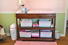 I wonder if I can convince Uncle Michael to make this changing table for us?