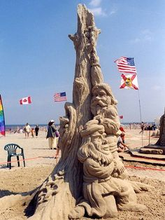 sandcastle art
