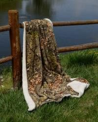 """Super plush 50"""" x 70"""" sherpa mink blankets. Great for the cold months. Made of woven micro polyester for an unbelievably soft feel."""