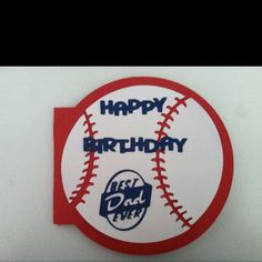 Baseball Birthday Card Creative Cards Pinterest Baseball