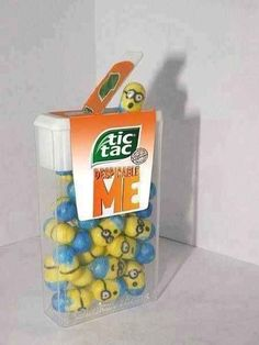 Minion Tic Tacs...I want some!
