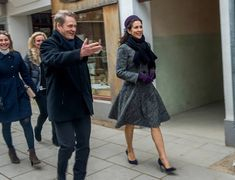 """On February 7, 2017, Crown Princess Mary of Denmark opened the exhibition """"The Jewellery Box"""" at the Old Town Museum (Den Gamle By) in Aarhus. The Jewellery Box - Danish Jewellery of the Twentieth Century is an exhibition with about 1000 danish jewelries of silver and some of gold from 1900-2000."""