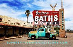 1953 Chevy Truck by SSC at Mesa Arizona famous Buckhorn Baths.