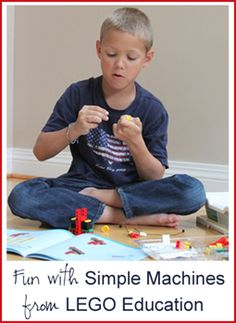 Fun with LEGO Education Simple Machines