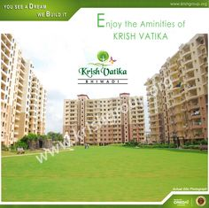 Home loan - AXIS, LIC HFL,HDFC, ICICI, PNB Housing and SBI approval. Krish Vatika Phase-I has 2BHK and 3 bhk residential property in bhiwadi.