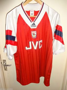 original Vintage Retro Authentic Arsenal adidas 1992-94 Football Soccer  shirt 48e634ee1c65f
