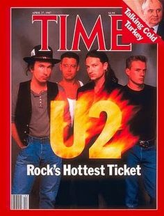 U2 on Time - Rock's Hottest Ticket.