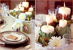 Pepper Design Blog » Blog Archive » Thanksgiving Centerpieces For Every Style
