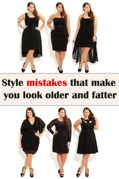Style mistakes that make you look older and fatter