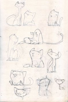 kitteh sketches by tipa graphic