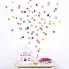 Polka Dot mur confettis de Shanghai par KokoKids sur Etsy