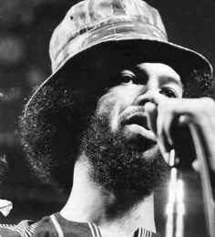 Gil Scott/Heron// My alternate to disappointment in the civi rights movement. He was my secret, heartfelt, Hero with a message I couldn't pull out of me. Handsome Black Men, Black Man, Soul Music, Music Music, All My People, Roberta Flack, Gil Scott Heron, Old School Music, Sweet Soul