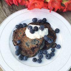 Blueberry pancakes #kroppochkost