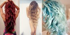 Haartrends zomer 2014 mermaid curls zeemermin krullen papilotten vlechten haar