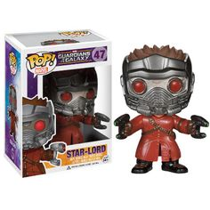 Guardians Of The Galaxy Pop! Vinyl Figure - Star-Lord :Pre-order now at ForbiddenPlanet.co.uk