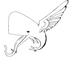 Image detail for -Whale Tatoo Symbol -Freedom- by ~MrMadrigal on deviantART