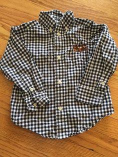 Polo Ralph Lauren Toddler Boys Shirt 2 2T Handsome | eBay