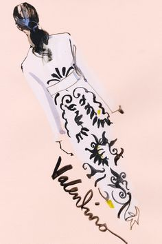 CELEBRATED fashion illustrator and VOGUE.CO.UK contributor David Downton attended the recent couture shows in Paris and sent us back his illustrated reports.
