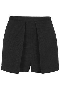 2e92ac44e Ribbed Structured Skort Topshop Skirts, Blazer And Shorts, Layered Skirt,  Skort, Short