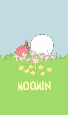 Moomin Wallpaper, Pink Wallpaper, Cartoon Wallpaper, Iphone Wallpaper, Les Moomins, Ghibli, Disney Collage, Moomin Valley, Tove Jansson