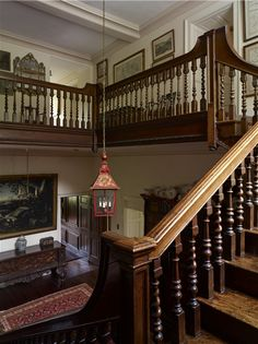thesixthduke: Oak staircase at Smedmore House, Purbeck, Dorset