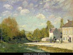 Paysage - Alfred Sisley - www.alfredsisley.org