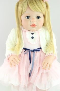 95fc74bfe5e New Arrival Big Size Clothing Model Toys Girls 28 Inches Silicone Reborn  Baby Dolls Safety Realistic Baby Reborn Doll Cheap