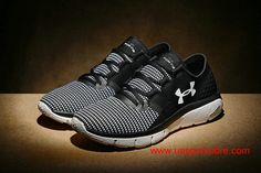 sale retailer 26d9f 7782f Discount UA SpeedForm Fortis 2 Black Glacier Gray White Men s Running Shoes   72.00 Running Shoes For