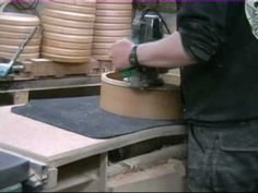 bodhran frame making 2/2