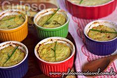 Quem é fã de legumes vai deliciar-se no #jantar com este delicioso Suflê de Couve-flor com Iogurte!  #Receita aqui: http://www.gulosoesaudavel.com.br/2013/07/10/sufle-couve-flor-iogurte/