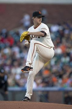 SAN FRANCISCO, CA - JULY 09: Matt Cain #18 of the San Francisco Giants pitches against the Oakland Athletics during the first inning at AT&T Park on July 9, 2014 in San Francisco, California. (Photo by Jason O. Watson/Getty Images)